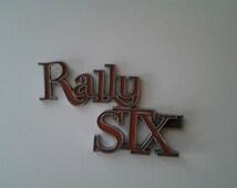 GMC Rally STX logo / early '90's Rally STX van logo