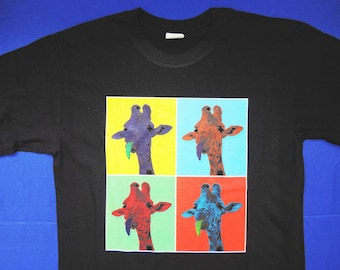 Pop Art Giraffe TShirt