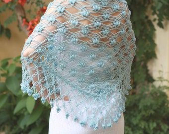 Rustic Wedding, Winter Wedding Cover Up, Bridal Cape, Bridal shawl, Wedding shawl, Blue Wrap, Lace Shawl, Wool Wrap, Code:Greta, GAMMAstudio