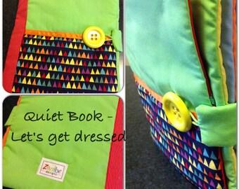 Quiet Book - Getting Dressed