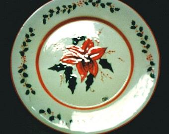 Amaryllis plate