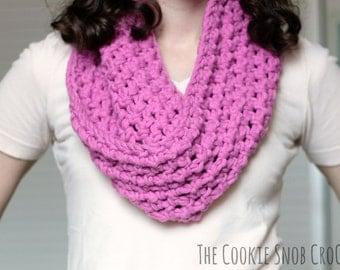 Crochet Infinity Scarf Loop Cowl