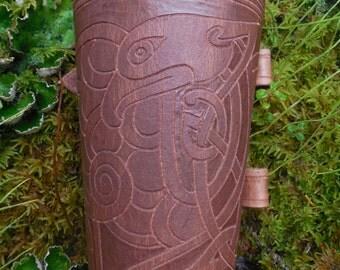 Handmade Archery Arm Guard-Eagle Design