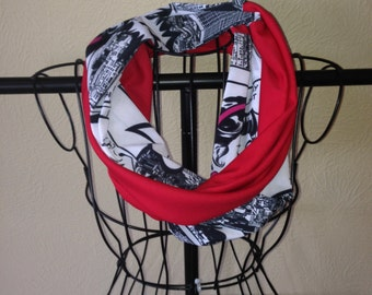Comic Strip Infinity Scarf