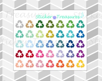35 Small Recycle [Planner Stickers]