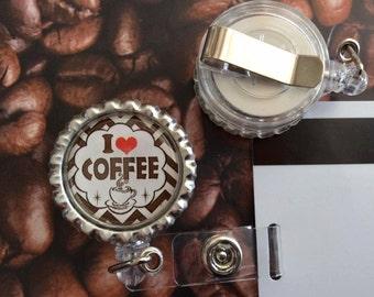 CHOOSE One Coffee Addict Bottlecap ID Badge