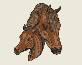 Mare and Colt Embroidery design