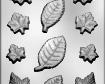 Assorted Leaves Chocolate Mold - 90-13064
