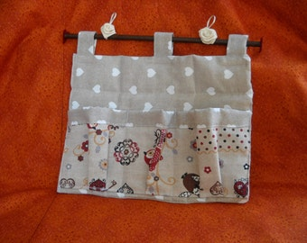 Organizer pockets Owls
