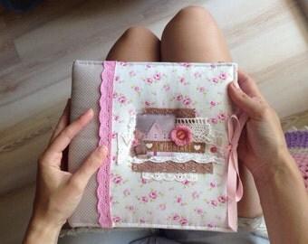 Baby Girl Personalized Photo Album