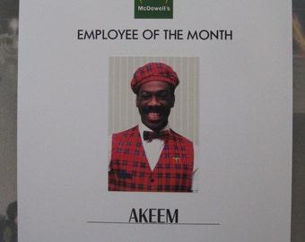 Coming to America - Akeem Employee Poster - Eddie Murphy - B2G1F