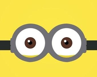Minion goggles etsy