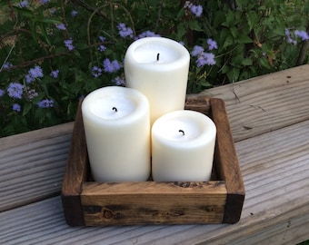 Candle Holder | Centerpiece | Farmhouse Decor | Wedding Centerpiece