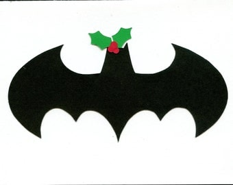 Batman Holiday/ Christmas Card