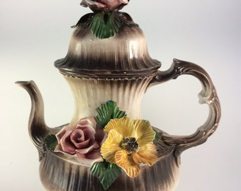 Porcelain Teapot made in Italy