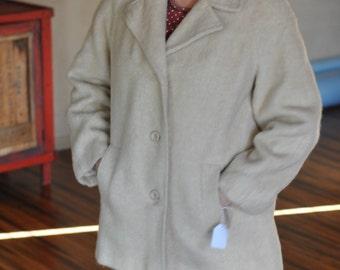 Sale! Vintage mohair wool Jacket.