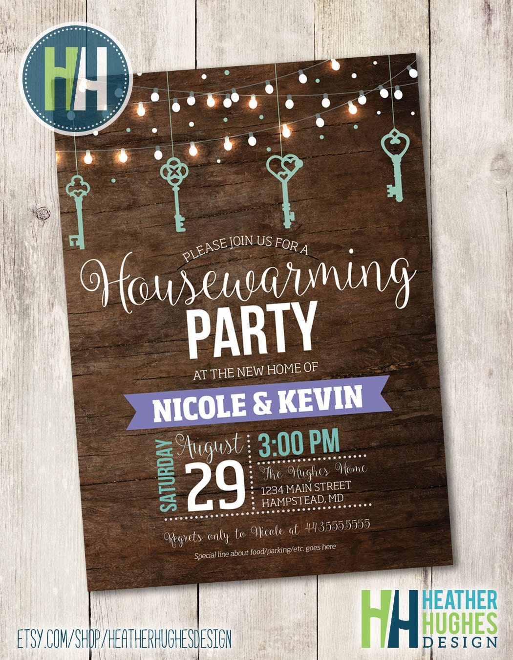It is a graphic of Irresistible Free Printable Housewarming Invitations