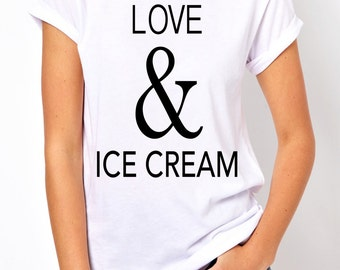 Love and Ice Cream tees.
