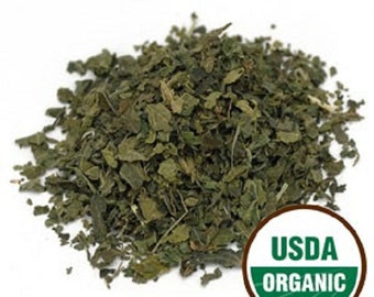 Stinging Nettle Leaf C/S, Organic  1 Pound (lb) 16 oz.
