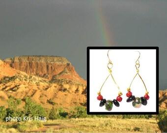 Earthy Dangles earrings