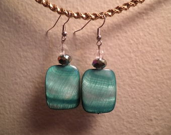 Earrings 108 Deep Blue Sea