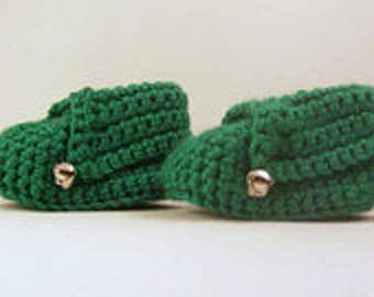 Crochet Elf booties, Christmas Elf booties, Elf shoes, baby booties, baby shoes, baby socks, baby boots,