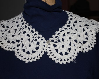 Hand made crocheted collar