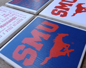 Southern Methodist University Coasters