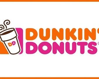 Dunkin Donuts FRIDGE MAGNET