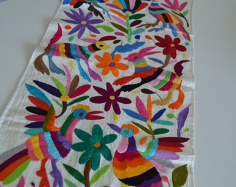 5 pieces Multicolored Table Runner / Otomi Table Runner/ Mexican table runner / Ready to be shipped