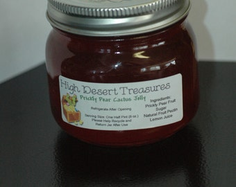 Southwest Prickly Pear Cactus Jelly 8 oz Jar