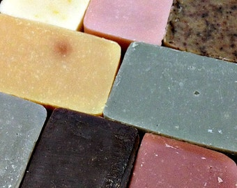 Soap Trio Choose Any 3 Bars Handmade Cold Processed Artisanal Soap