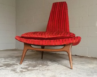 Karpen of California  Mid Century Chair