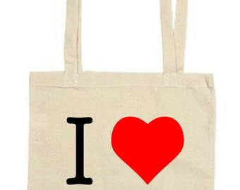 I Love (Heart) NY - Lightweight Tote Bag - Gift/Present/Party/Themed
