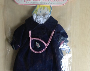 Marie Corolle Doll Clothes #2375 Manteau Premiere Sortie France 1990s