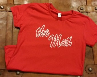 The Max Red and White Tee - Saved by The Bell Inspired Graphic Tee - Women's or Men's