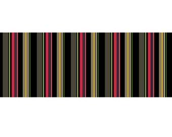 Stripe Black Fabric