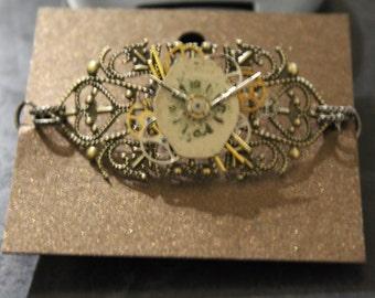 Steampunk style bracelet