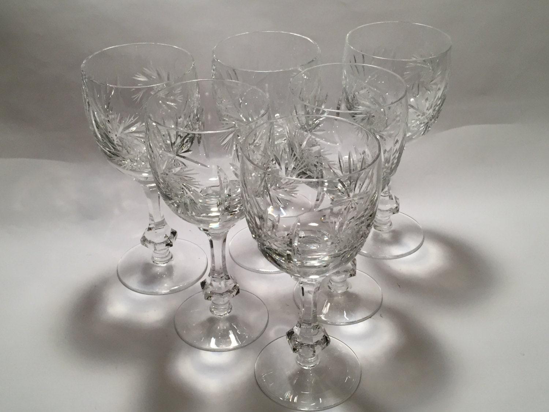 Antique Crystal Glasses Patterns David Simchi Levi