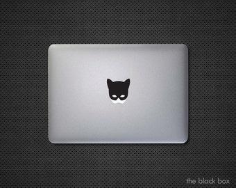 Batman inspired Catwoman Macbook decal - Macbook sticker