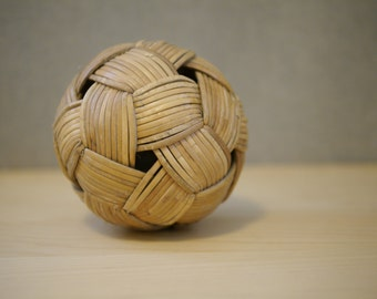 Vintage Wicker Ball