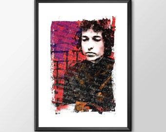 Bob Dylan Blowin' In The Wind - PRINTED - BUY 2 Get 1 FREE