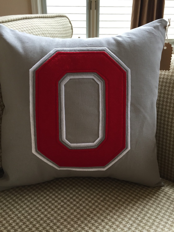 Ohio State Pillow