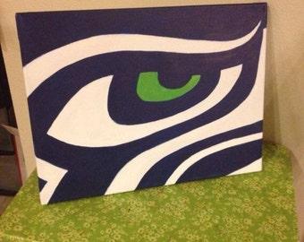 Seahawks painting