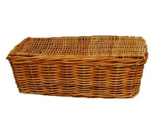 French Messenger Basket