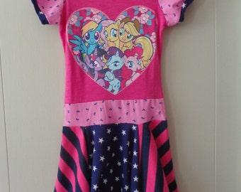 My Little Pony Upcycled Dress