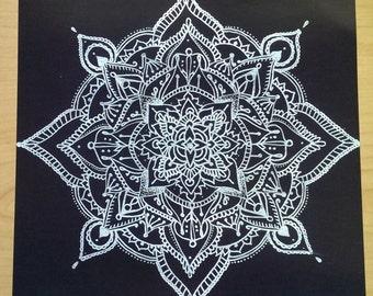 Silver Detailed Mandala