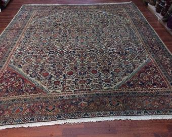 Antique Persian Mahal Rug-1059