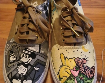 Custom Painted Disney Inspired Shoes