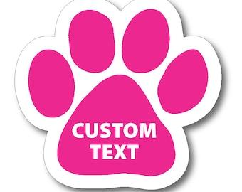 Pawprint Etsy - Custom car magnets paw print